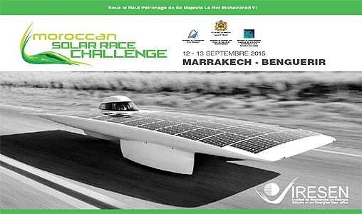 Course de voitures solaires à Marrakech - SejourMaroc