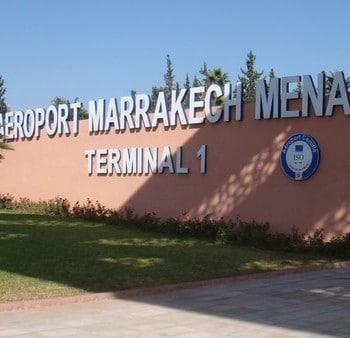 L'aéroport de Marrakech/Menara - SejourMaroc