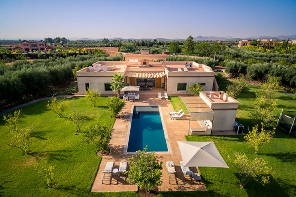 location villa marrakech salamouni