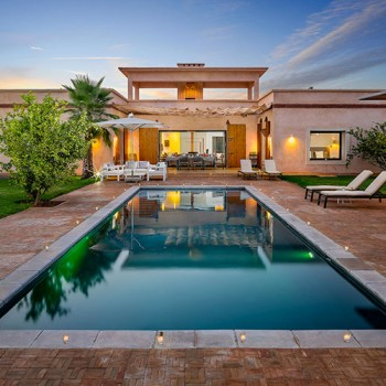 Location villa marrakech depart nimes
