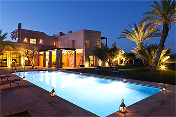 location ryad marrakesh villa dar tifiss