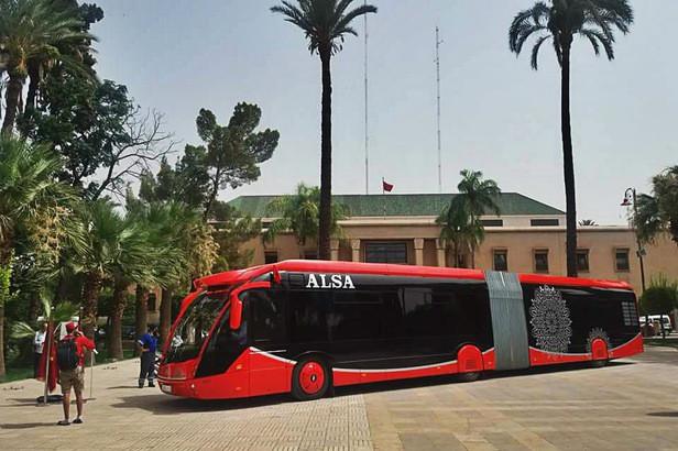 tram bus marrakech