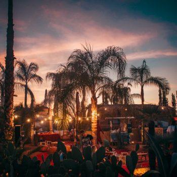 La scène du festival Oasis 2017 à Marrakech