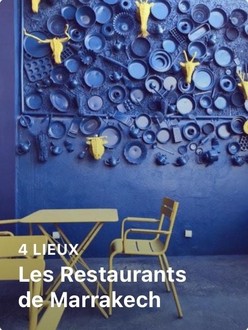 guide marrakech restaurants